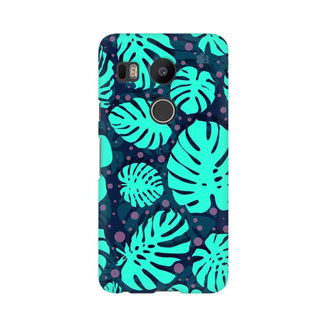 Tropical Leaves Pattern LG Nexus 5X Phone Cover