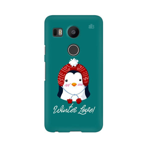 Winter Love LG Nexus 5X Phone Cover