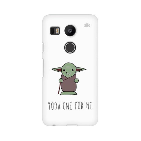 Yoda One LG Nexus 5X Phone Cover