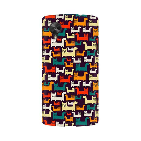 Chill Cats LG Nexus 5 Phone Cover