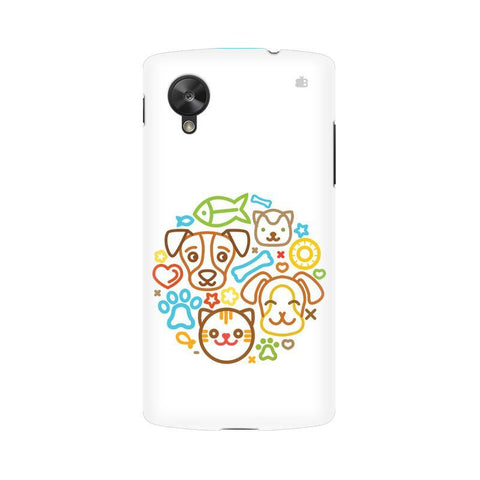 Cute Pets LG Nexus 5 Phone Cover
