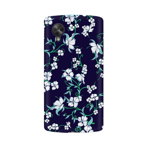 Dogwood Floral Pattern LG Nexus 5 Phone Cover