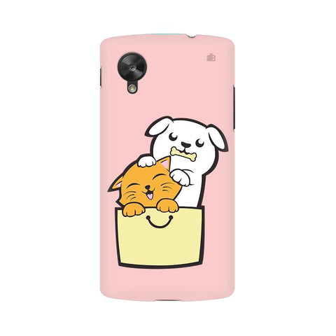 Kitty Puppy Buddies LG Nexus 5 Phone Cover