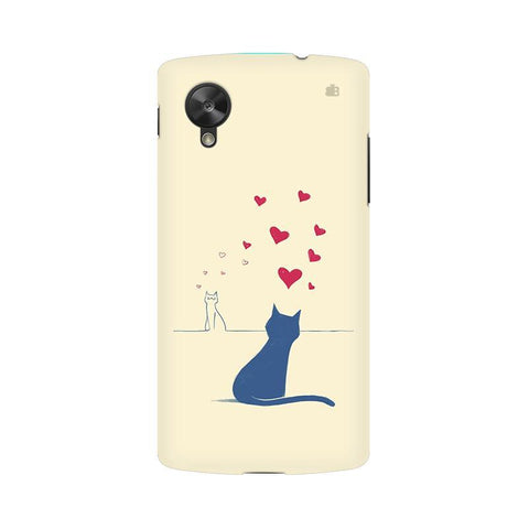 Kitty in Love LG Nexus 5 Phone Cover