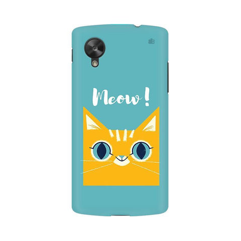 Meow LG Nexus 5 Phone Cover