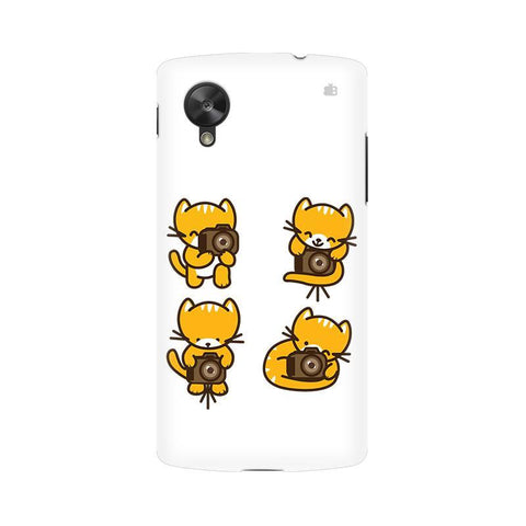 Photographer Kitty LG Nexus 5 Phone Cover