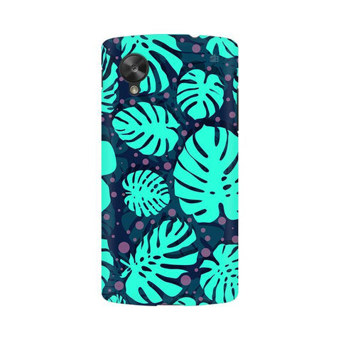 Tropical Leaves Pattern LG Nexus 5 Phone Cover