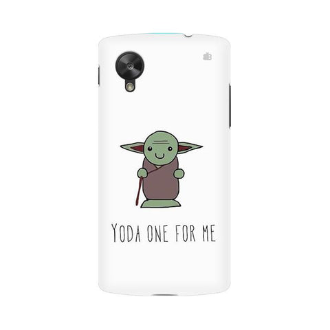 Yoda One LG Nexus 5 Phone Cover