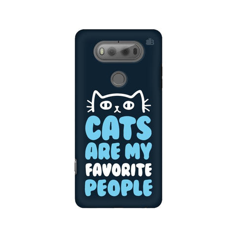 Cats favorite People LG V20 Phone Cover