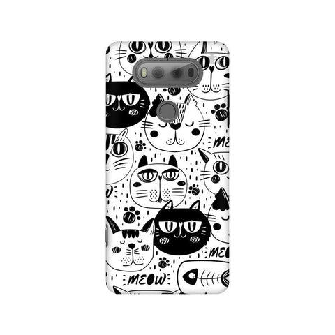 Cute Cats Pattern LG V20 Phone Cover
