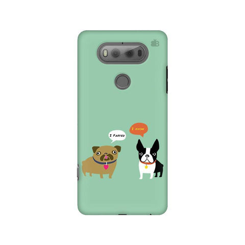 Cute Dog Buddies LG V20 Phone Cover