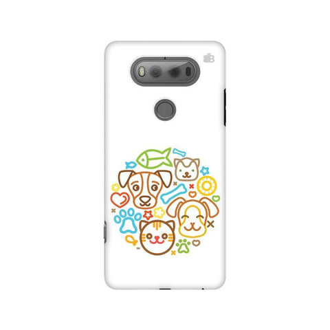 Cute Pets LG V20 Phone Cover