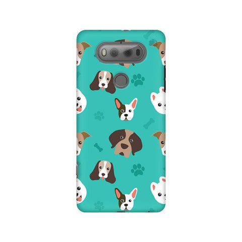 Doggie Pattern LG V20 Phone Cover
