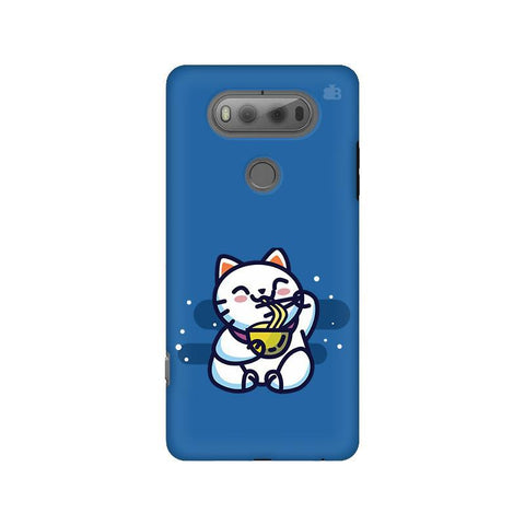 KItty eating Noodles LG V20 Phone Cover