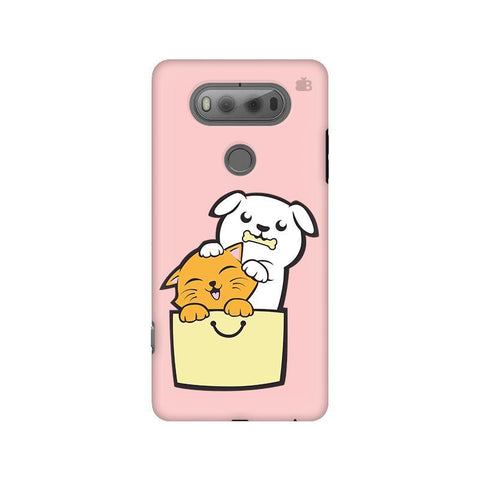 Kitty Puppy Buddies LG V20 Phone Cover