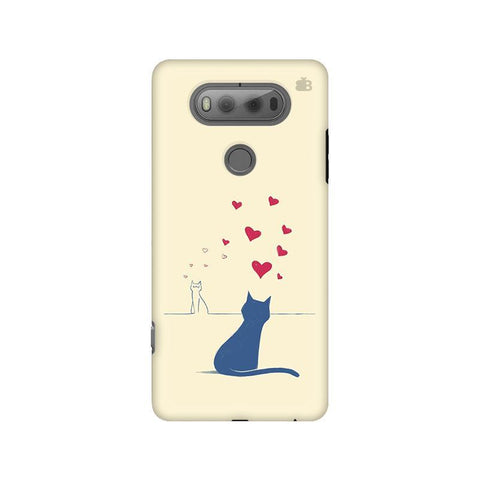Kitty in Love LG V20 Phone Cover