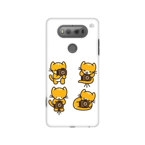 Photographer Kitty LG V20 Phone Cover