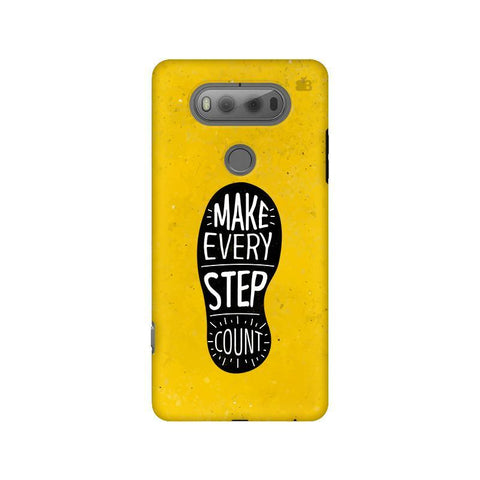 Step Count LG V20 Phone Cover
