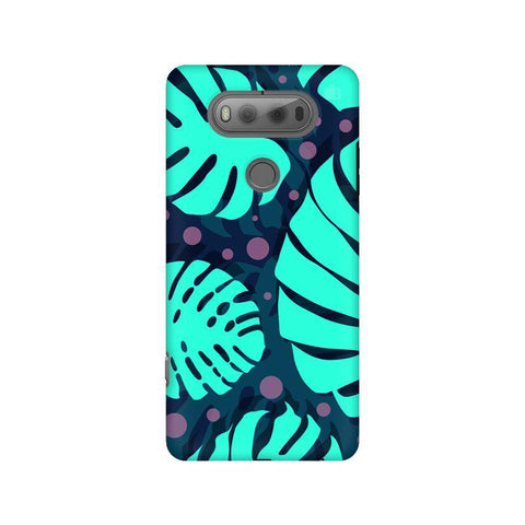 Tropical Leaves Pattern LG V20 Phone Cover
