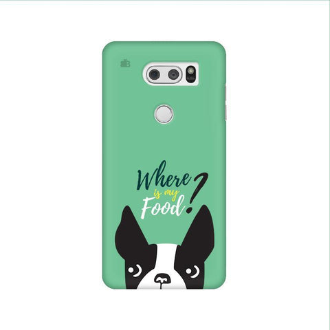 Where is my Food LG V30 Phone Cover