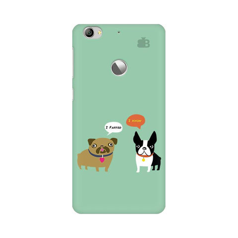 Cute Dog Buddies LeTV Leeco 1S Phone Cover