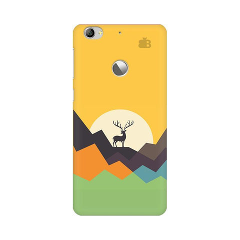 Deer in Mountains LeTV Leeco 1S Phone Cover