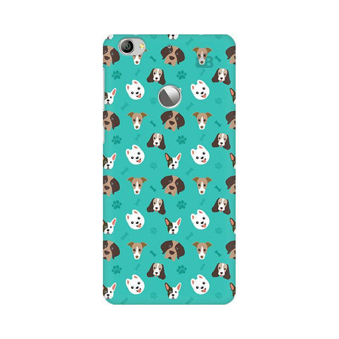 Doggie Pattern LeTV Leeco 1S Phone Cover
