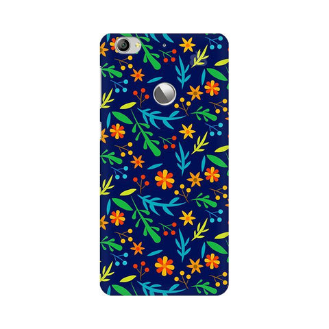 Vibrant Floral Pattern LeTV Leeco 1S Phone Cover