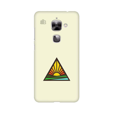 Triangular Sun LeTV Leeco 2S Phone Cover