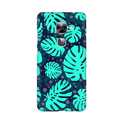 Tropical Leaves Pattern LeTV Leeco 2S Phone Cover