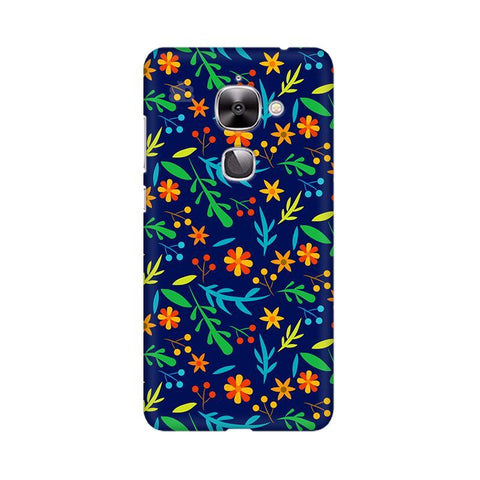 Vibrant Floral Pattern LeTV Leeco 2S Phone Cover