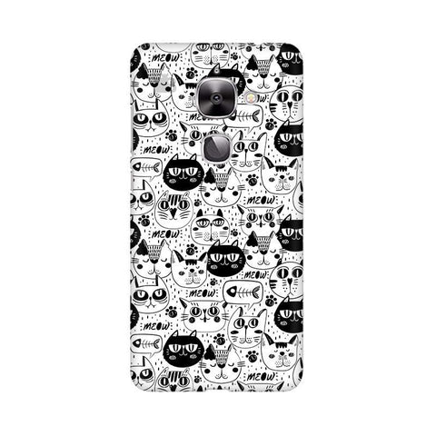 Cute Cats Pattern LeTV Leeco Max 2 Phone Cover