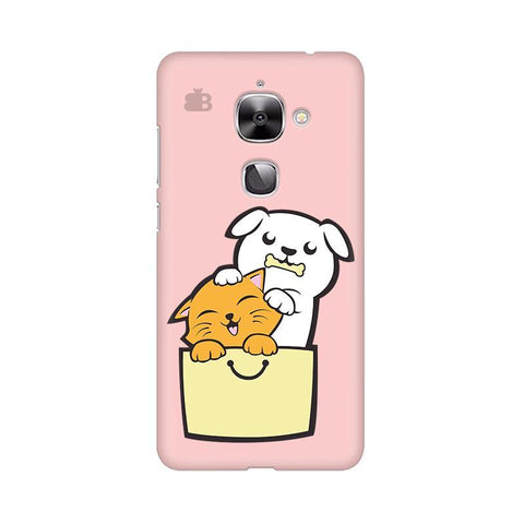 Kitty Puppy Buddies LeTV Leeco Max 2 Phone Cover