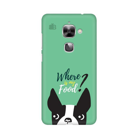 Where is my Food LeTV Leeco Max 2 Phone Cover