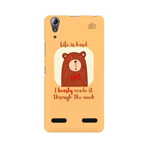 Bearly Made It Lenovo A6000 Phone Cover