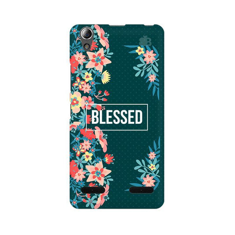 Blessed Floral Lenovo A6000 Phone Cover