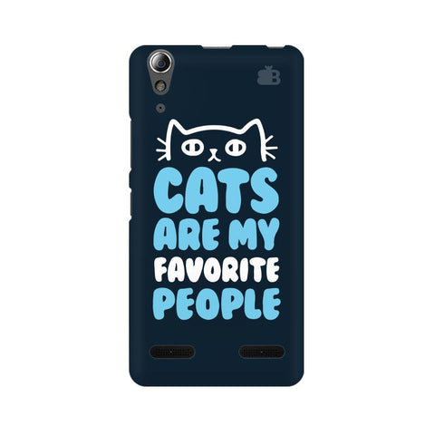 Cats favorite People Lenovo A6000 Phone Cover