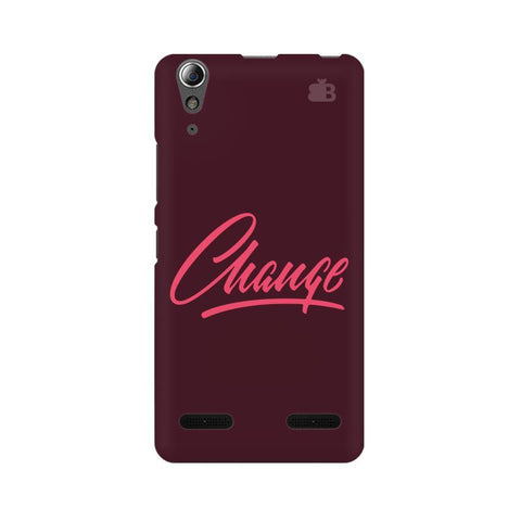 Change Lenovo A6000 Phone Cover