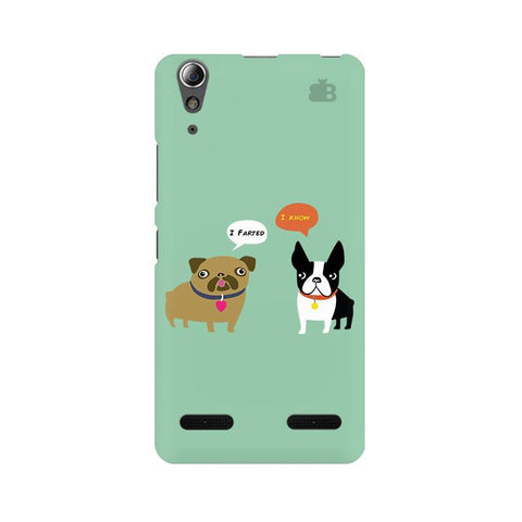 Cute Dog Buddies Lenovo A6000 Phone Cover