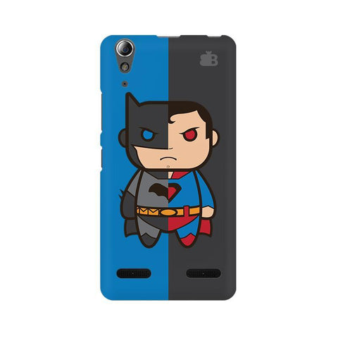 Cute Superheroes Annoyed Lenovo A6000 Phone Cover