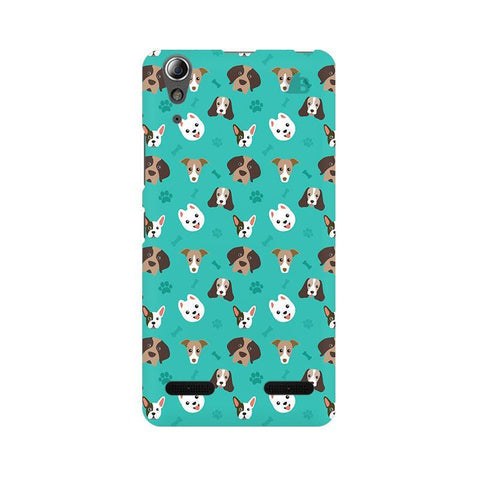 Doggie Pattern Lenovo A6000 Phone Cover