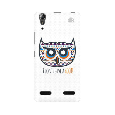 Dont give a Hoot Lenovo A6000 Phone Cover