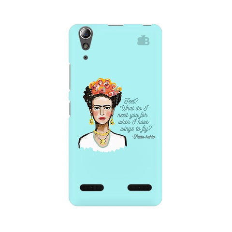 Frida Kahlo Lenovo A6000 Phone Cover
