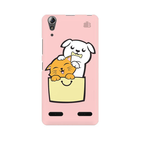 Kitty Puppy Buddies Lenovo A6000 Phone Cover
