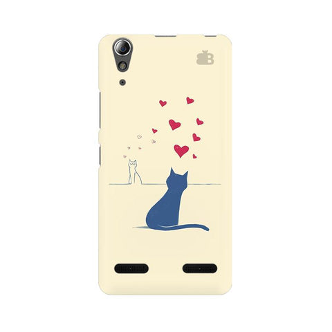 Kitty in Love Lenovo A6000 Phone Cover