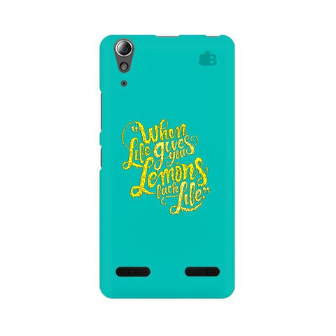 Life gives Lemons Lenovo A6000 Phone Cover