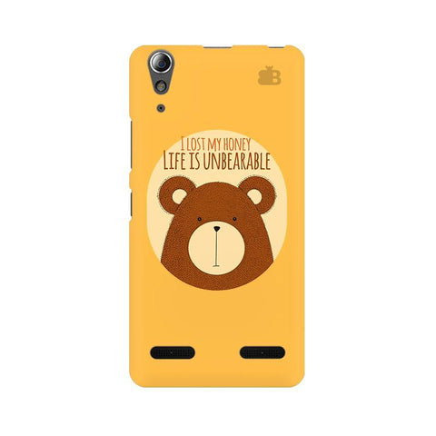 Life is Unbearable Lenovo A6000 Phone Cover