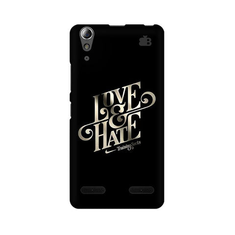 Love & Hate Lenovo A6000 Phone Cover