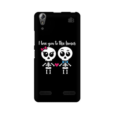 Love to the Bones Lenovo A6000 Phone Cover