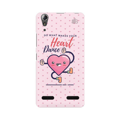 Make Your Heart Dance Lenovo A6000 Phone Cover